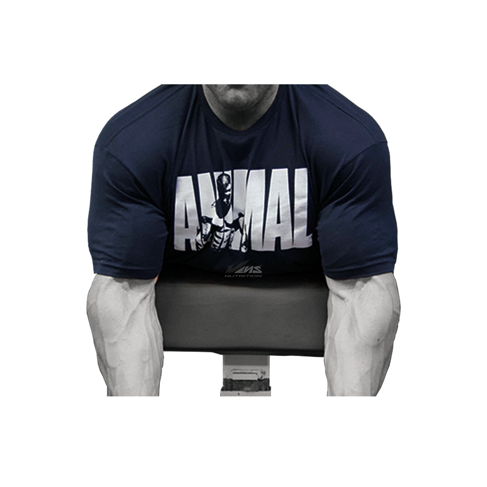 ANIMAL-ICONIC-T-SHIRT—EVAN—NAVY—Limited-Edition-by-VENS-NUTRITION