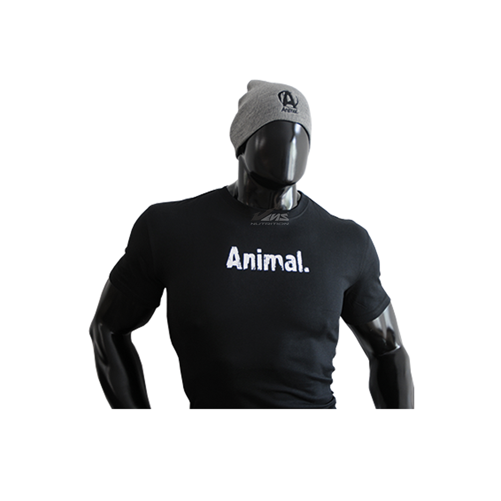 ANIMAL–T-SHIRT—BLACK-by-VENS-NUTRITION